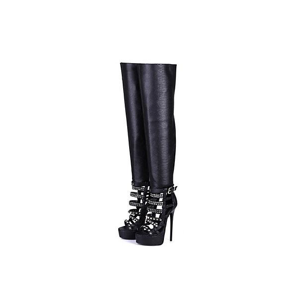 Giaro  Stiefel Black SnakeKlassische Stiefel schwarz  Giaro Gute Qualität beliebte Schuhe 676880