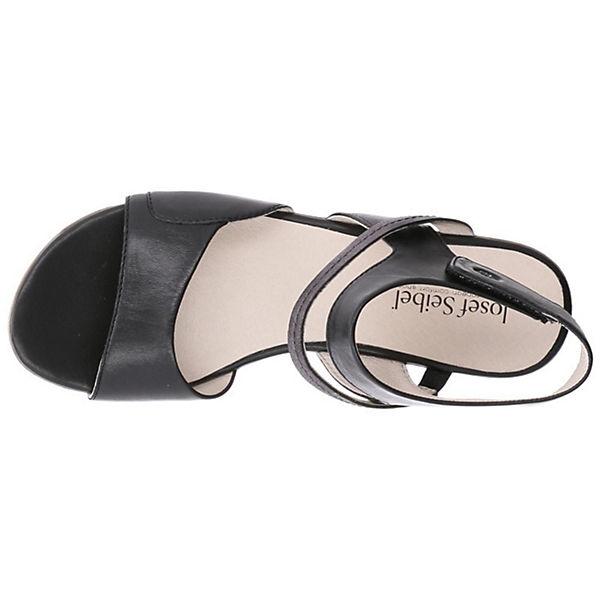 Josef Seibel, Klassische Qualität Sandalen, schwarz  Gute Qualität Klassische beliebte Schuhe 6776d8