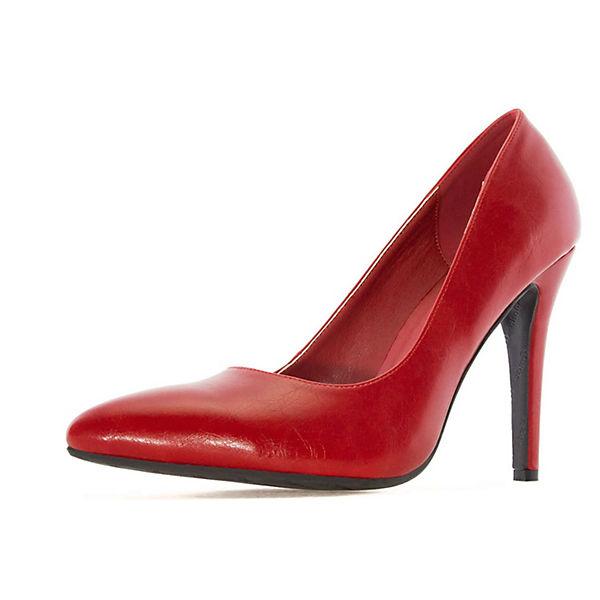 Andres Machado Pumps AM5199Klassische Pumps rot  Gute Qualität beliebte Schuhe