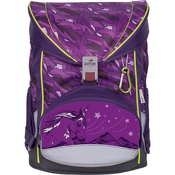 8405085 Schulrucksackset ErgoFlex EXKLUSIV SWITCH Purple, 7-tlg. (Kollektion 2019)