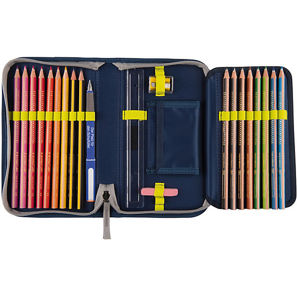 8405086 Schulrucksackset ErgoFlex EXKLUSIV SWITCH Blue, 7-tlg. (Kollektion 2019)