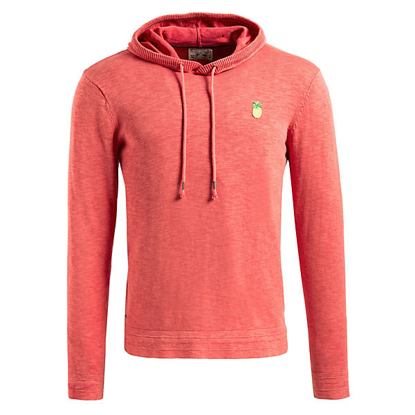 NAVIREZSweatshirts rot Khujo Khujo Pullover Pullover ZxXqFc