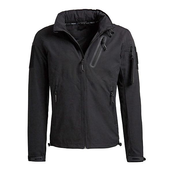 Khujo Khujo LUISTrainingsjacken schwarz Jacke Jacke nwxFqS6P7