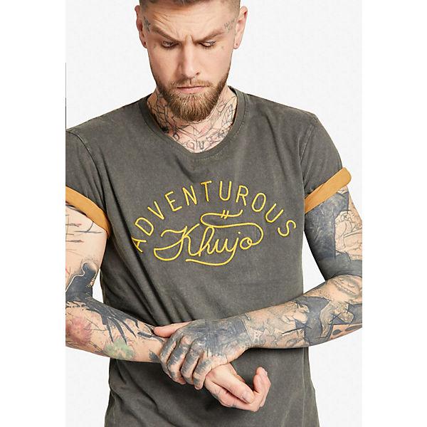 Khujo Shirt TOVERT Shirts Shirt grau Khujo Shirts TOVERT RR1qr