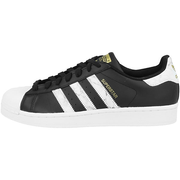 SuperstarSneakers schwarz Schuhe Low Originals adidas nUX0Rn
