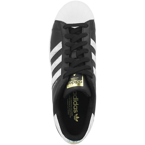 Schuhe adidas Originals SuperstarSneakers schwarz Low 7PPAgqw