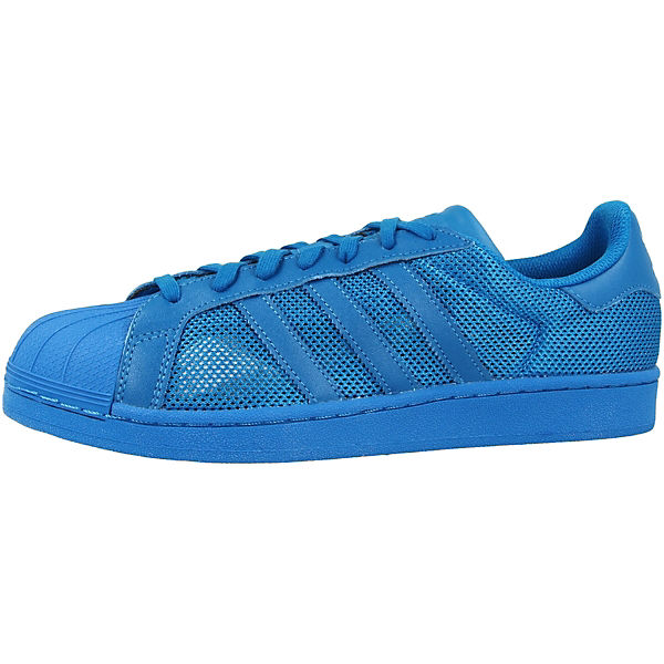blau Schuhe SuperstarSneakers Originals Low adidas wCHqY5xII