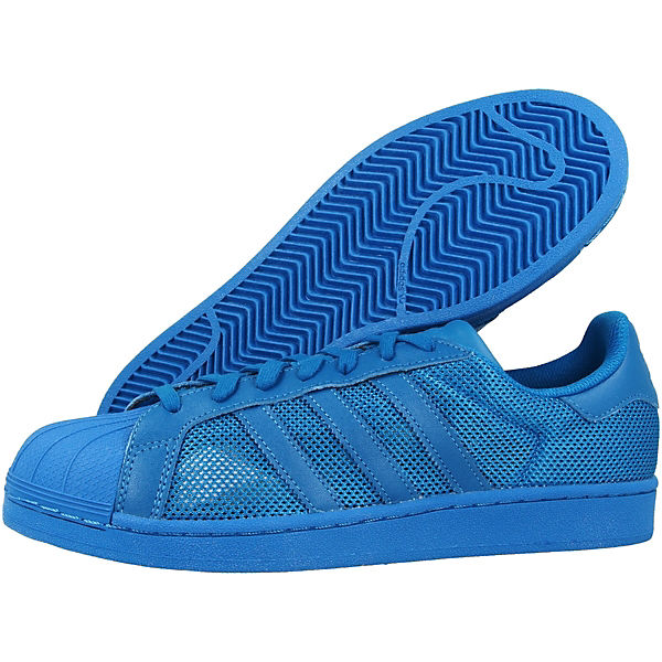 SuperstarSneakers Low Schuhe blau Originals adidas UqvxzA