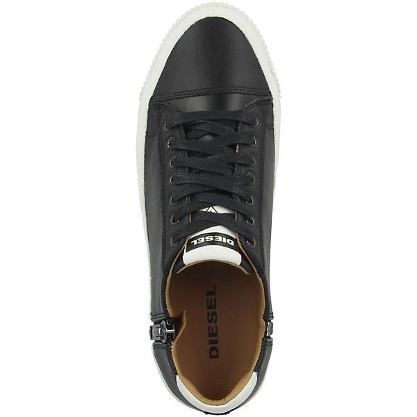 Low LowSneakers DIESEL schwarz S Voyage Schuhe Sqg1wPR4n