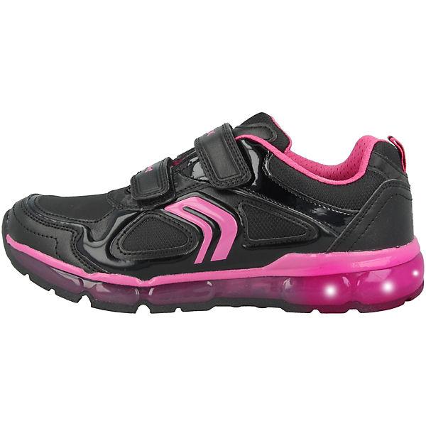Low Schuhe A G Android JuniorSneakers schwarz J GEOX wYUAxw