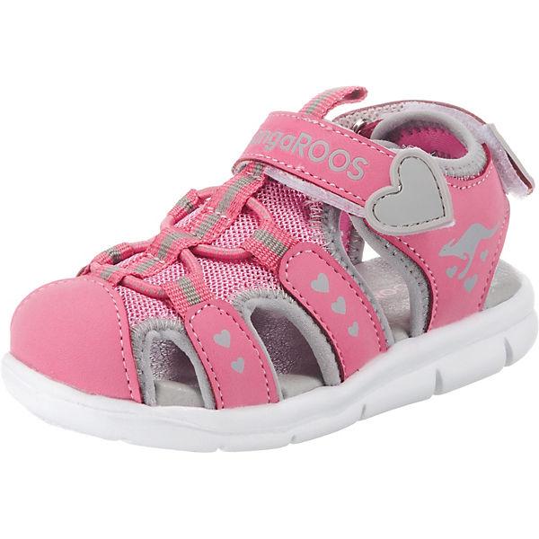 online store 53508 449d8 KangaROOS, Sandalen K-MINI für Mädchen, pink