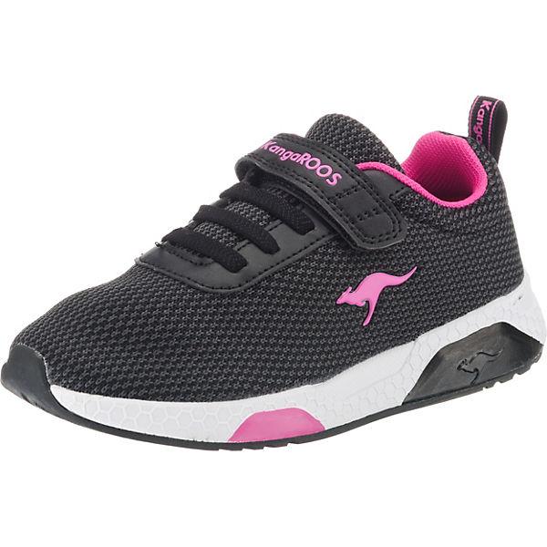 size 40 5cfd5 3edae KangaROOS, Sneakers Low KADEE KNIT für Mädchen, schwarz