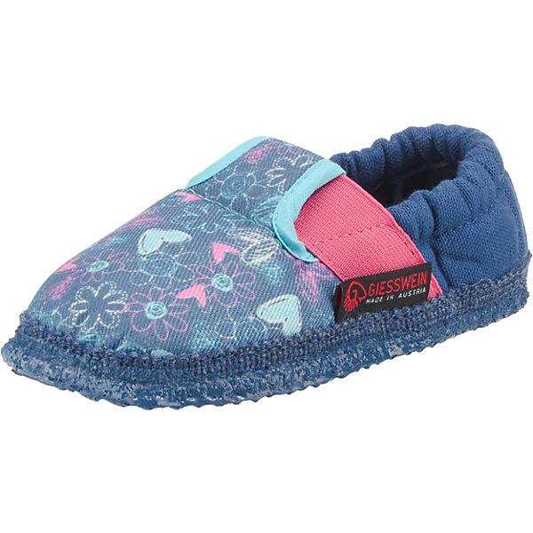 separation shoes 29de2 0dbf9 Giesswein, Hausschuhe ALBBRUCK für Mädchen, blau