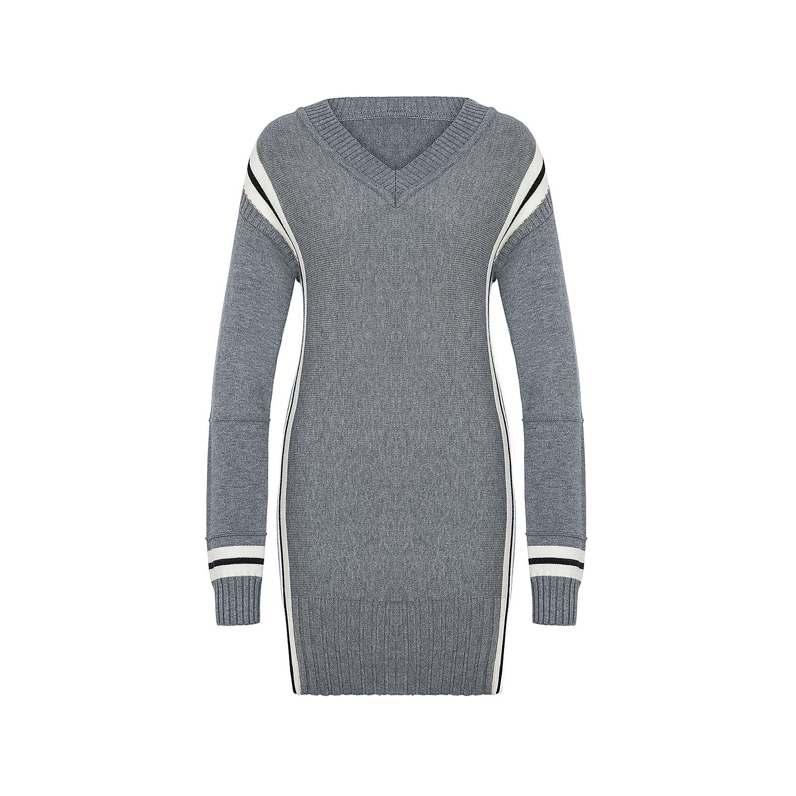 05de303a82e977 Million X Women Damen Long-Pullover Elenore Pullover grau Damen Gr. 44