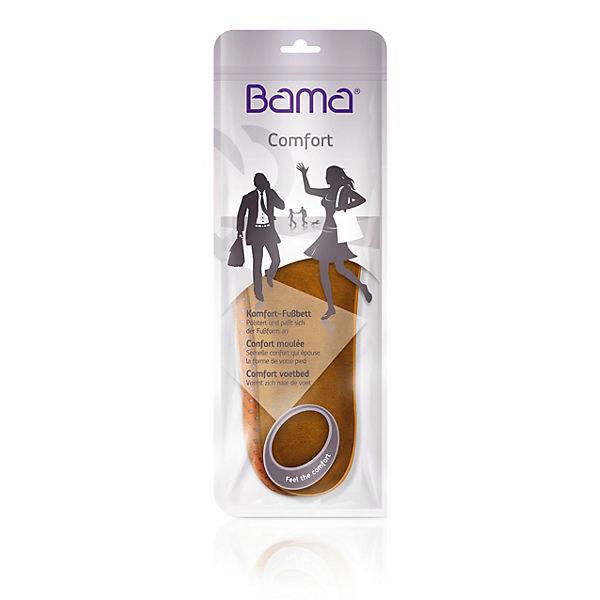 Bama braun Memoryschaum Bama Komfort braunEinlegesohlen mit Fußbett Alltags perforiert rHrUxBq8