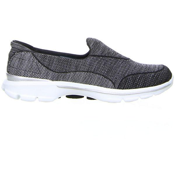 SKECHERS, Go Walk 3  Super Sock 3, schwarz  3 Gute Qualität beliebte Schuhe 4d68c1