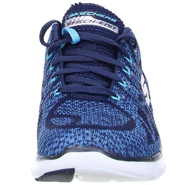 SKECHERS, Flex Appeal Qualität 2.0, blau  Gute Qualität Appeal beliebte Schuhe ca0613