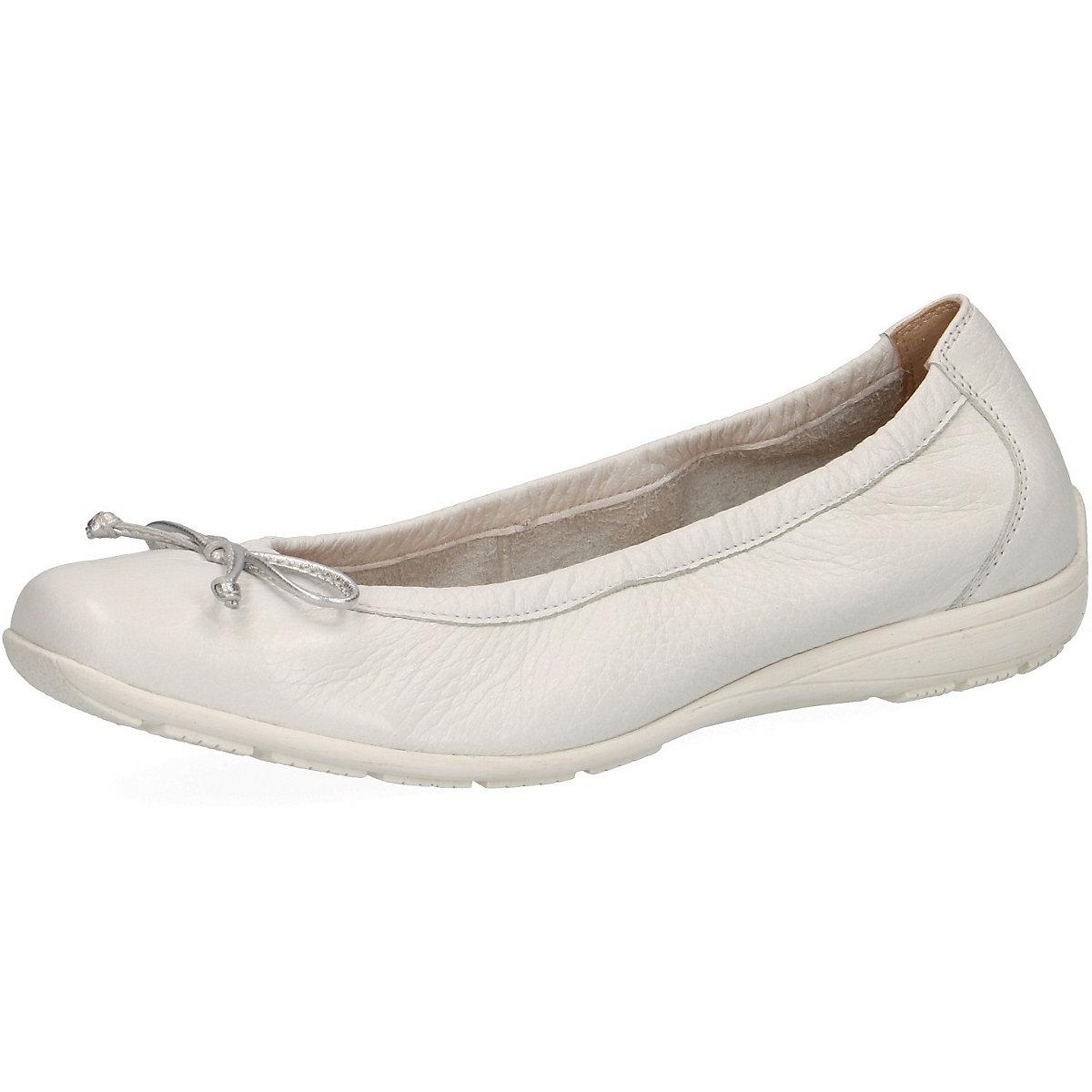 CAPRICE, Klassische Ballerinas, weiß  Gute Qualität beliebte Schuhe