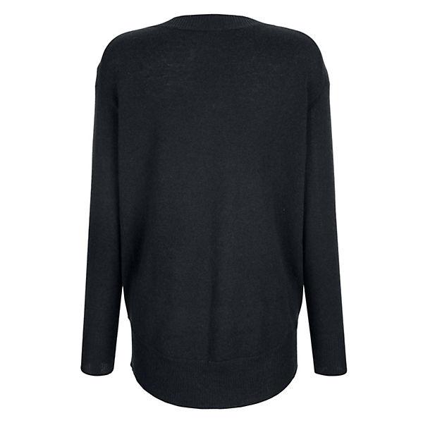Pullover Alba Alba Moda dunkelblau Moda qXtn1Z