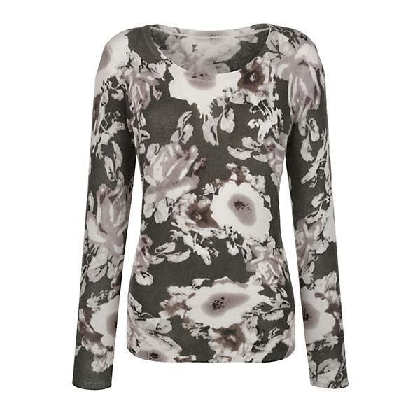 Alba Moda Pullover khaki