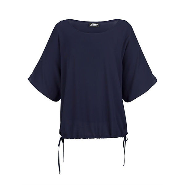 Amy Vermont 3/4-Arm-Blusen dunkelblau