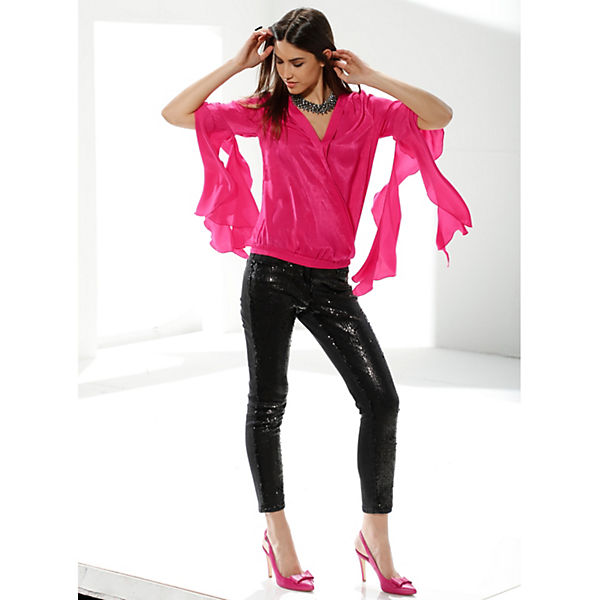Arm Amy 4 3 Blusen Vermont pink CwUHPq1x0