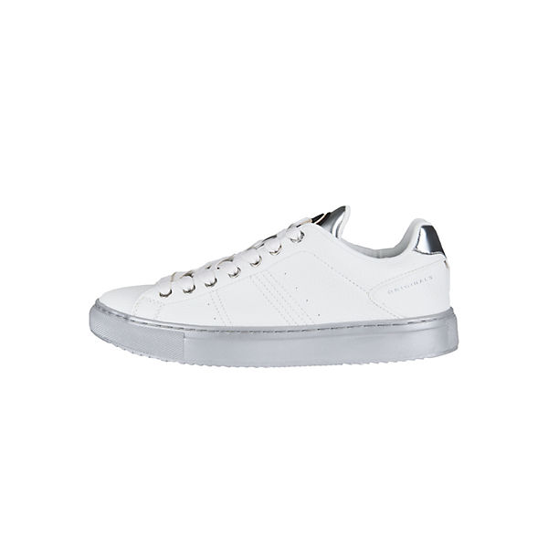 MIRRORSneakers weiß BRADBURY silber COLMAR Low Sneaker wEBpqAxUf