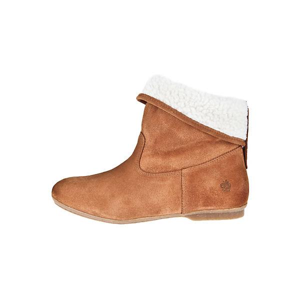 Apple of Eden Schlupf-Boots BIANCAKlassische Stiefel hellbraun  Gute Qualität beliebte Schuhe