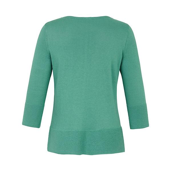 4 arm Pullover Mit 3 Rundhals Anna Grün Aura pullover vymNO8n0w