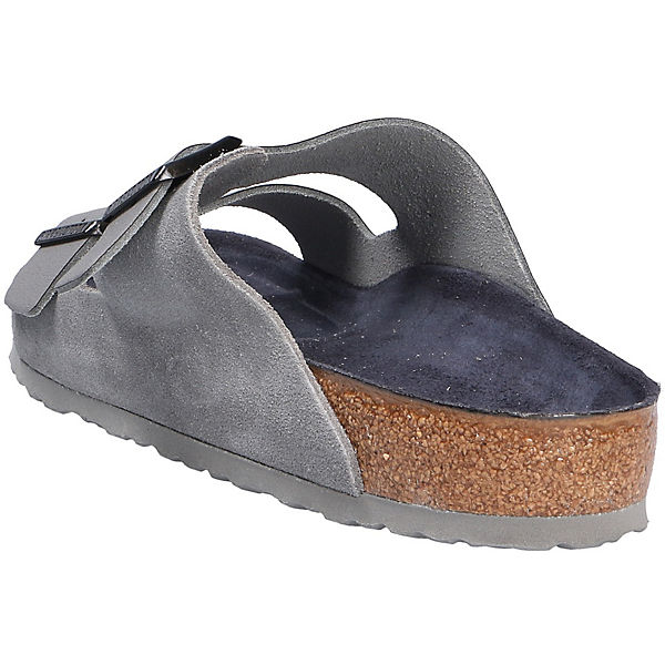 BIRKENSTOCK, Qualität Komfort-Pantoletten, grau  Gute Qualität BIRKENSTOCK, beliebte Schuhe 522d36