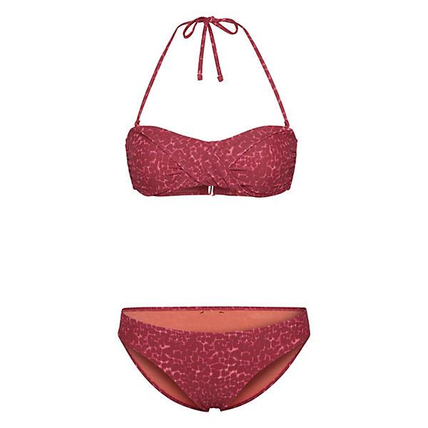 Design kombi Aufregenden Chiemsee Bandeau Rot Bikini Im htQCsrd