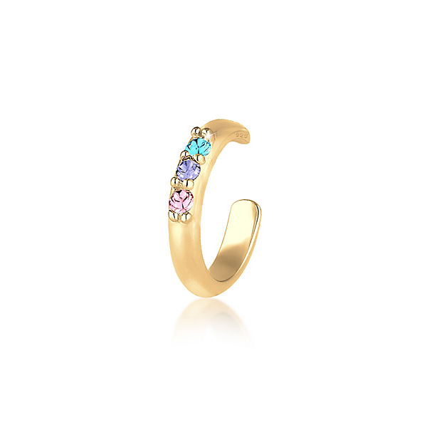 Elli Ohrringe Single Earcuff Swarovski® Kristalle 925er SilberOhrringe e534282e8c