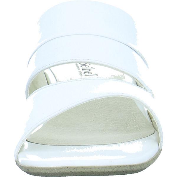 Josef Gute Seibel, Pantoletten, weiß  Gute Josef Qualität beliebte Schuhe 27e6ee