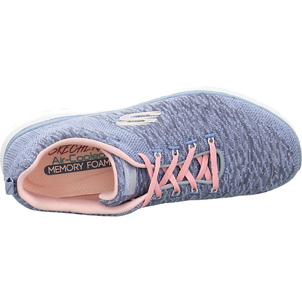 Low 3 blau SKECHERS Sneakers APPEAL 0 FLEX EqfYwvX7x