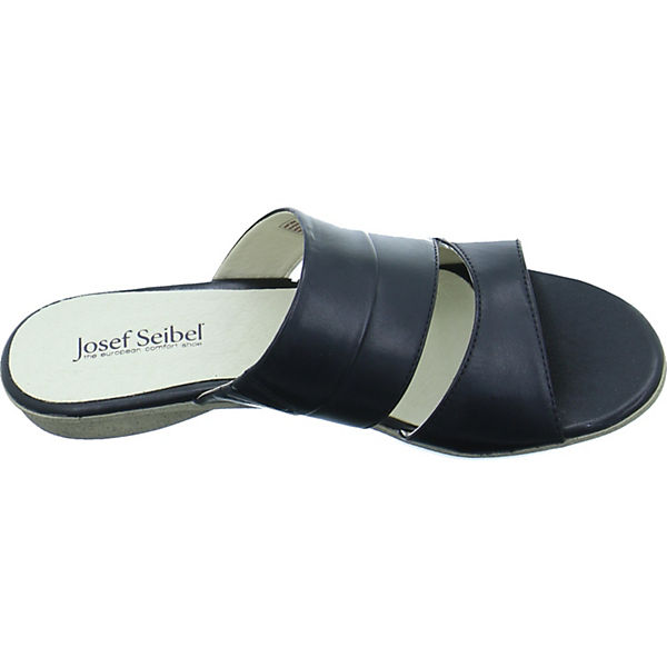 Seibel Josef Josef Seibel Josef schwarz schwarz Pantoletten Pantoletten wxaXAp5