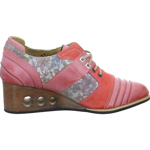 Maciejka, Qualität Schnürpumps, rot  Gute Qualität Maciejka, beliebte Schuhe a2d048
