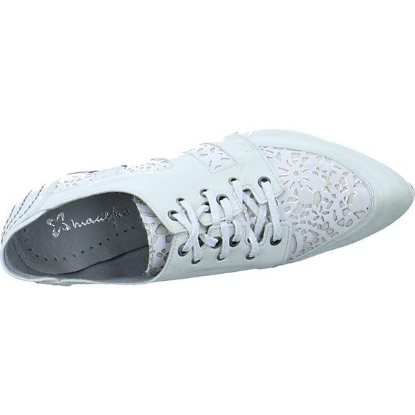 Maciejka,  Schnürpumps, weiß  Maciejka, Gute Qualität beliebte Schuhe 13f13d