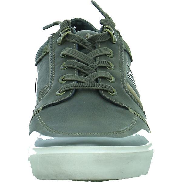 bugatti bugatti Low Sneakers Sneakers grün fPwd7Pqx