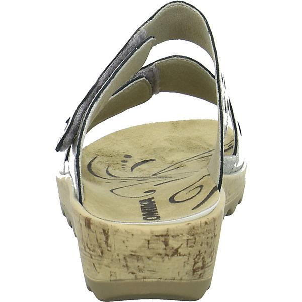 ROMIKA, Pantoletten, silber Schuhe  Gute Qualität beliebte Schuhe silber 08ce0b