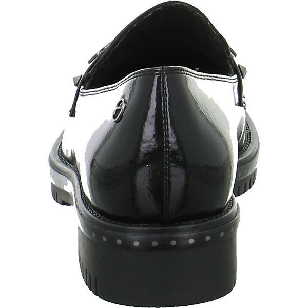 Tamaris, Klassische Slipper, schwarz schwarz Slipper,   88b525