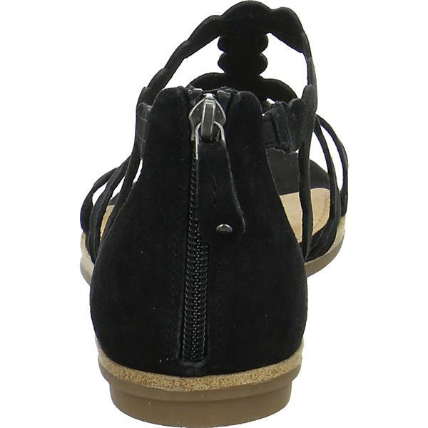 s.Oliver, Klassische Qualität Sandalen, schwarz  Gute Qualität Klassische beliebte Schuhe bc9643