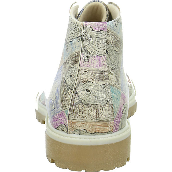 Dogo Shoes Schnürstiefeletten mehrfarbig  Gute Qualität beliebte Schuhe