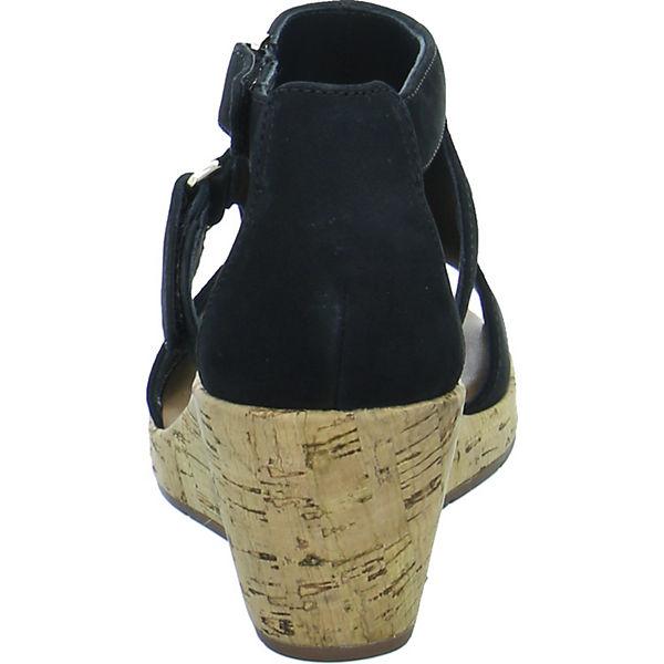 Clarks Keilsandaletten schwarz  Gute Qualität beliebte Schuhe