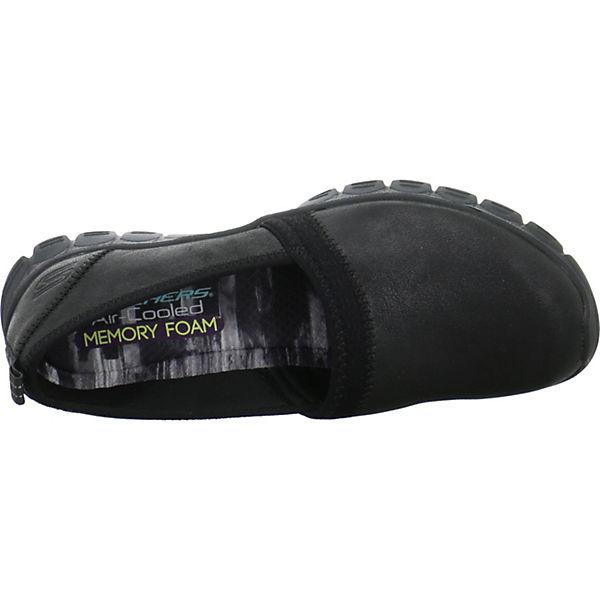 SKECHERS Klassische Slipper beliebte schwarz  Gute Qualität beliebte Slipper Schuhe d7c3e8