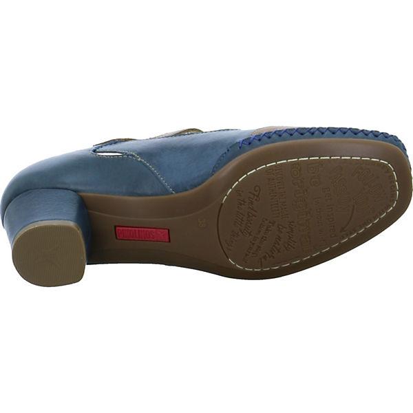 Pikolinos, Spangenpumps, blau Schuhe  Gute Qualität beliebte Schuhe blau a46d73