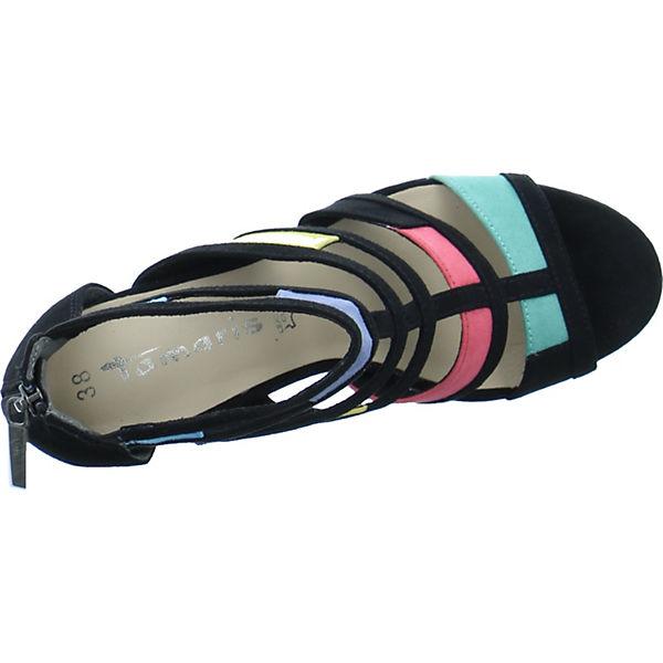 Tamaris, Klassische Sandaletten, schwarz schwarz Sandaletten,   e4b0c8
