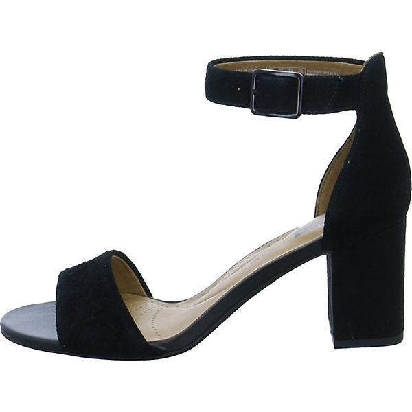 schwarz Clarks Clarks Klassische Klassische Sandaletten OvR8wRqI