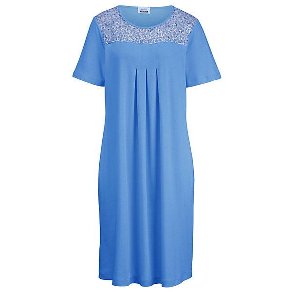 Ascafa Nachthemden blau
