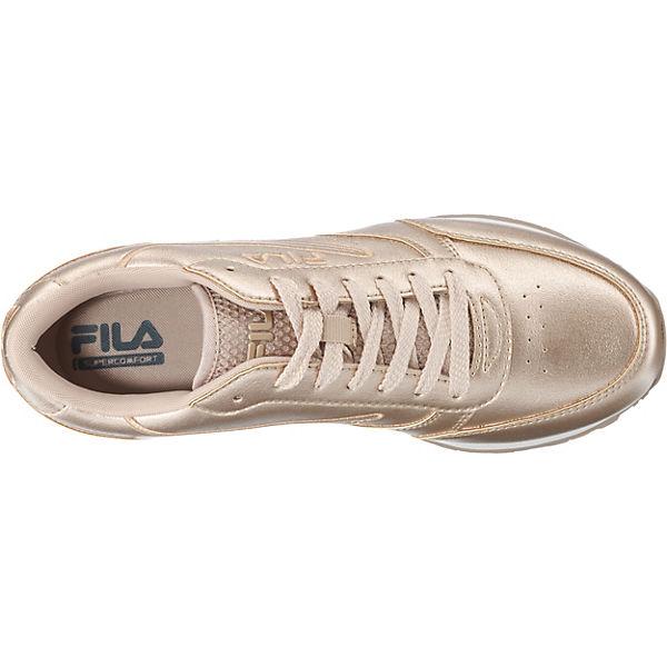 FILA, Orbit F low Sneakers Niedrig, gold gold gold  Gute Qualität beliebte Schuhe b7b3d2