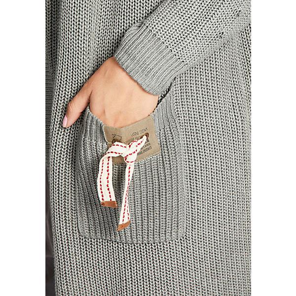 grau grau GRILLAStrickjacken Pullover Pullover GRILLAStrickjacken Khujo Khujo Khujo Pullover GRILLAStrickjacken w46WBP7qx